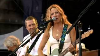getlinkyoutube.com-Crossroads Guitar festival  2007   Sheryl Crow  & E  Claptom    Tulsa Time
