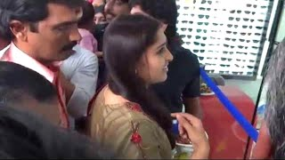 getlinkyoutube.com-Malayalam actress Sanusha inaugurating 'Skylark Eye Care Centre' Payyanur