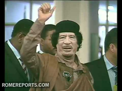 Qaddafi death shown in video  Vatican responds with hope for Libya's future