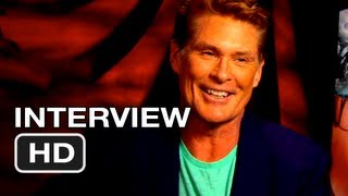 Piranha 3DD Interview - David Hasselhoff (2012) HD - YouTube
