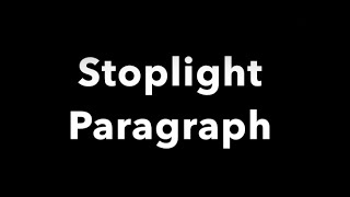 getlinkyoutube.com-The Basics of a Stoplight Paragraph