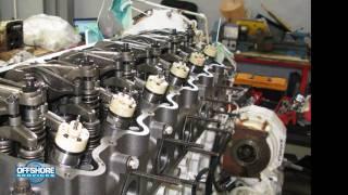 getlinkyoutube.com-CAT C18 Rebuilding ~ Réfection moteur CAT C18