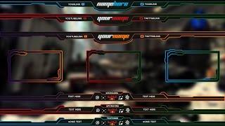 getlinkyoutube.com-Free Twitch Overlay Template Pack # 1