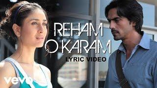 We Are Family - Reham O Karam Full Lyric | Kareena, Kajol, Arjun