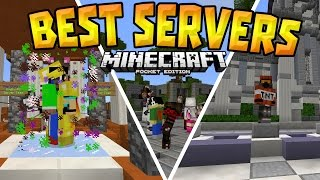 getlinkyoutube.com-TOP 5 SERVERS in MCPE (1.0+) - Best Working Servers! - Minecraft PE (Pocket Edition)