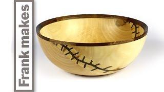 getlinkyoutube.com-Wood Turned Maple Bowl