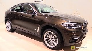 getlinkyoutube.com-2016 BMW X6 xDrive 40d Individual - Exterior and Interior Walkaround - 2015 Frankfurt Motor Show