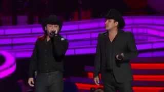 getlinkyoutube.com-Julion Alvarez y Gerardo Ortiz - Premios de la Radio 2014