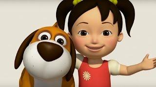 getlinkyoutube.com-Английский язык для малышей - Мяу-Мяу - сборник серий - 21 - 26 серии - учим английский