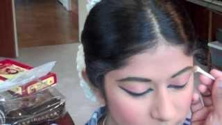 getlinkyoutube.com-Performance Ready/Chapter 2 - Make-up for Bharatanatyam