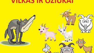 """getlinkyoutube.com-Pasaka """"Vilkas ir  ožiukai"""""""