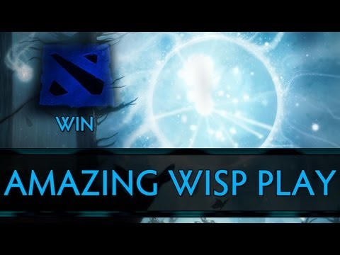 Dota 2 Win - Amazing Wisp (Io) Play