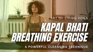 getlinkyoutube.com-Kapalbhati Pranayama Breathing Technique
