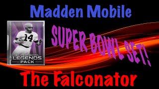 """getlinkyoutube.com-Madden Mobile - Superbowl Legend Set! """"CRAZY PULLS!"""" + 99 OVERALL!"""