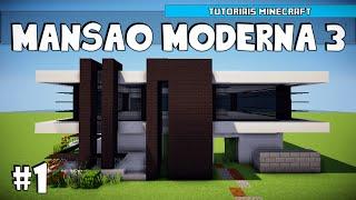 getlinkyoutube.com-Minecraft: Como Construir uma Mansão Moderna 3 (Parte 1)