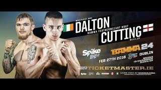 getlinkyoutube.com-Decky Dalton Vs. Mike Cutting - BAMMA 24