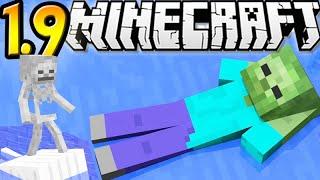 "getlinkyoutube.com-Minecraft 1.9 SnapShot: Swimming Mobs, Following Eyes & More! ""SnapShot 15w45a"""