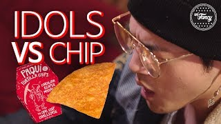 Korean Celebrities & Youtubers DESTROYED by One Chip Challenge #OneChipChallenge BM KARD CASPER