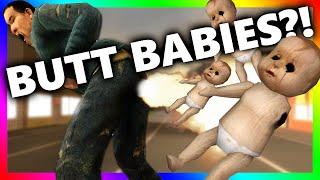 getlinkyoutube.com-BUTT BABIES?!?! | Exploding Demon Babies (Gmod Funny Sandbox)