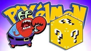 getlinkyoutube.com-Minecraft: Lucky Blocks Pixelmon! Mr. Krabs w/BajanCanadian & Lachlan