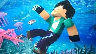 getlinkyoutube.com-Minecraft: REZENDE SE AFOGOU!! #08 ( O SONHO)