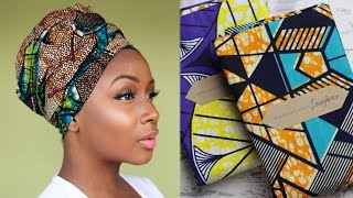 getlinkyoutube.com-6 Easy HEADWRAP Styles ft Laura Jane Fashion | Style