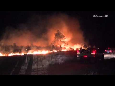 Raw: Fire North of L.A. Burns 35 Sq. Miles | #California