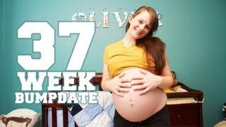 getlinkyoutube.com-37 WEEK BUMPDATE - Headaches, NST, Hospital Tour - Pregnant After Stillbirth