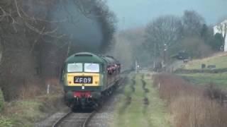 getlinkyoutube.com-East Lancashire Railway Spring Diesel Gala - 18th February 2017