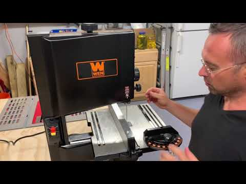 Unboxing and Review of the 3959 Bandsaw Youtube Thumbnail