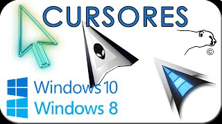 Cursores para Windows 8 y 10