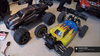 RC Collection Part 3 E-Revo VXL & Losi Mini 8ight OVERVIEW