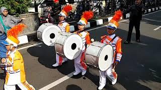 Parade marching band di Balai Kota Bandung 5 November 2017 - part 2