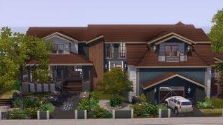 getlinkyoutube.com-The Sims 3 - House Building - Saddle Stone