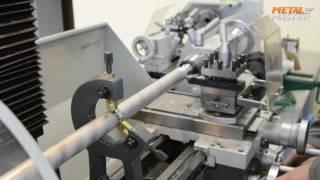 getlinkyoutube.com-Обработка заготовки на токарном станке длиной 550 мм