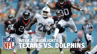 getlinkyoutube.com-Texans vs. Dolphins | Week 7 Highlights | NFL