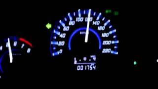 getlinkyoutube.com-Honda City 2013 EX AT a 120kmph @2500rpm / Final limitada (180kmph)