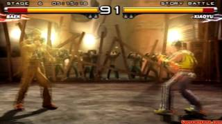 getlinkyoutube.com-Tekken 5 - Story Battle - Baek Playthrough