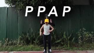 getlinkyoutube.com-PPAP Dance Version   Ranz & Niana