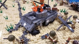 getlinkyoutube.com-LEGO WWII Battle of Gela | BrickFair Alabama 2016