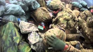 Soldier Survives Shot To Helmet During Firefight