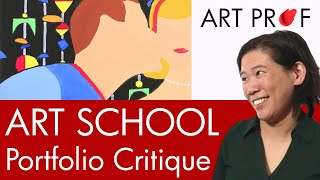 getlinkyoutube.com-Art Critique: Art School Admissions Portfolio #1