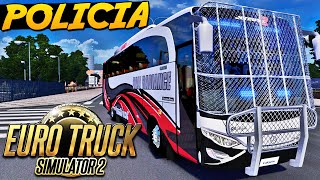 getlinkyoutube.com-Ônibus Caveirão da Policia - Euro Truck Simulator 2