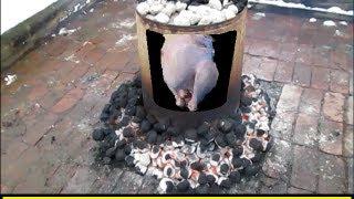 getlinkyoutube.com-How To Cook a Trash Can Turkey (HowToLou.com)