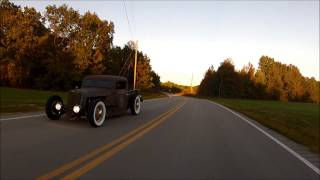 "getlinkyoutube.com-1936 1935 Ford Chopped Pickup Hot Rod Rat Traditional SCTA Shop Truck ""Quiggle"", FORSALE"