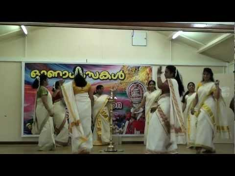Onam-2012-Thiruvathira-KERALA ASSOCIATION STAFFORD-UK