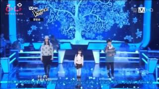 getlinkyoutube.com-Snow Flower (the voice kids korea)