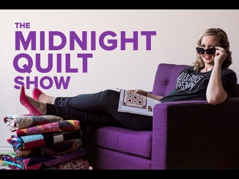 ALL-NEW SERIES coming 12/7: The Midnight Quilt Show with Angela Walters