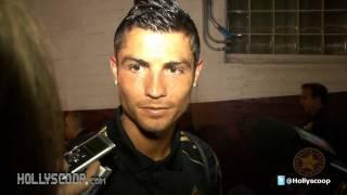 getlinkyoutube.com-Cristiano Ronaldo And David Beckham On LA GALAXY vs REAL MADRID Match