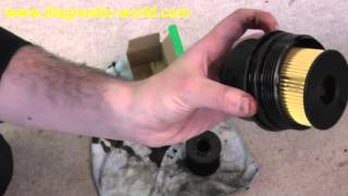 getlinkyoutube.com-Peugeot 308 Oil Filter, Air Filter & Oil Service Replacement Guide